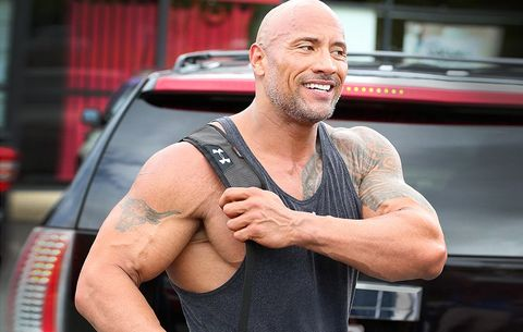 The Rock Makes The Gym His Anchor While Traveling You