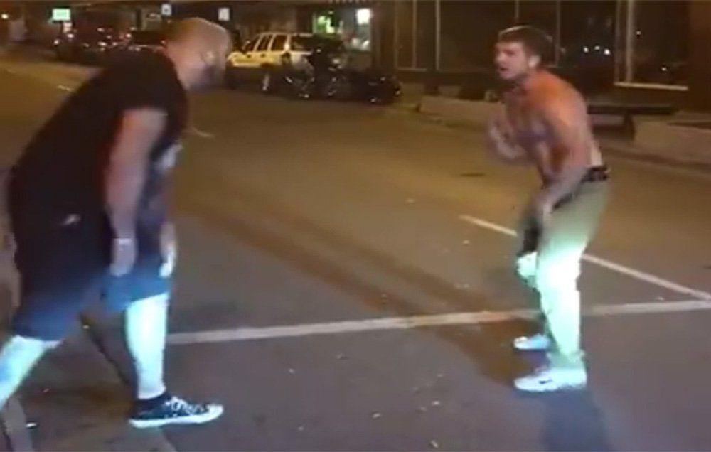 Drunk Guy Punches Bouncer Who Turns Out to Be MMA Fighter, Oops