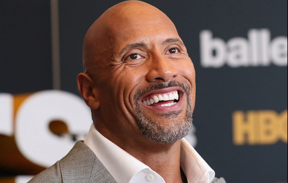 the rock helps woman lose weight