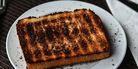 Burnt toast and cancer