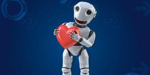 Robot heart sleeve