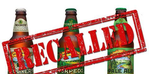 sierra nevada beer recall