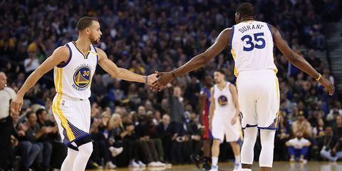 steph curry high five