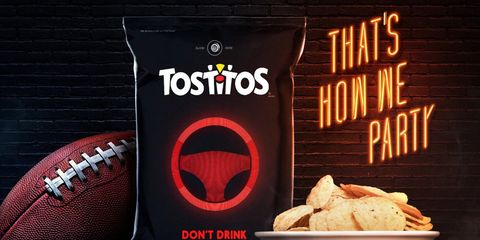 This Tostitos Bag Knows If You're Drunk and Will Call You an Uber