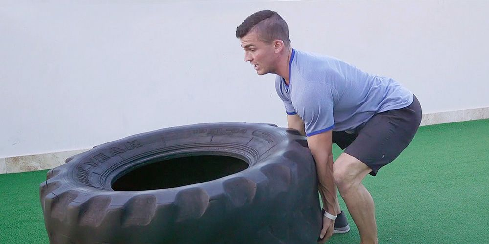 The Right Way To Flip A Tire Men S Health