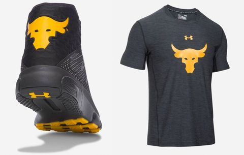 06f9d4e8c The Rock's UA x Project Rock Collection Has Arrived | Men's Health
