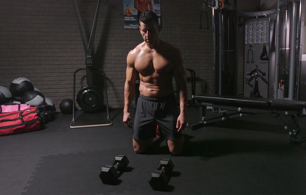 The 12-Move Dumbbell Workout You Can Do Anywhere | Men's Health