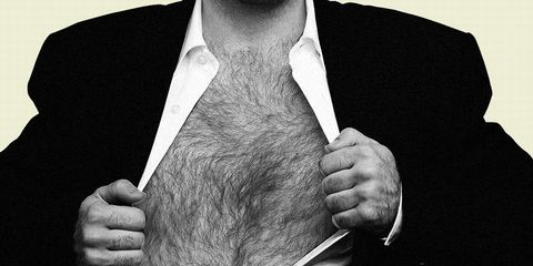 dying chest hair