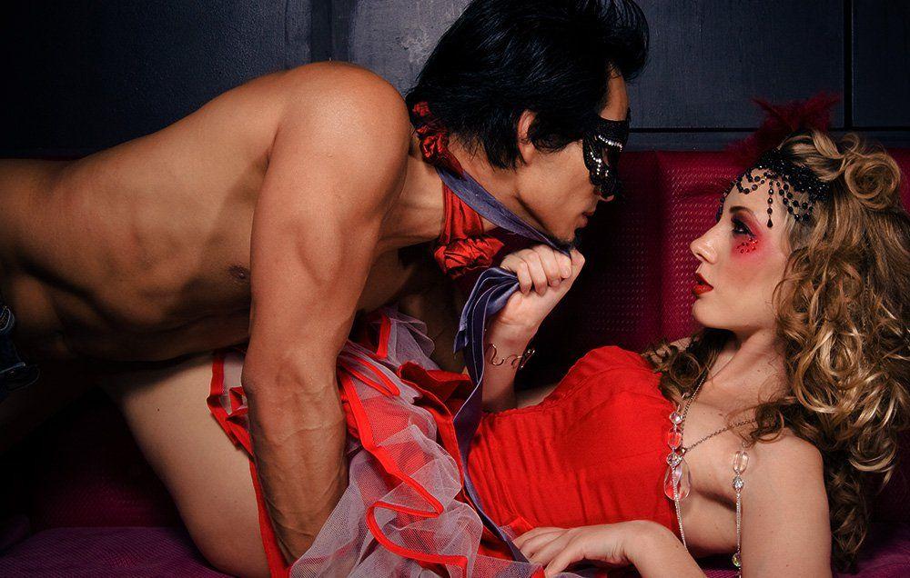 Model sex party