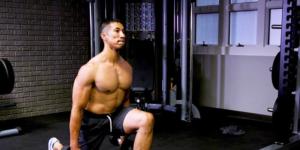 Work every muscle in your leg with this lunge circuit