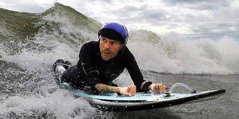 Paralyzed Surfer