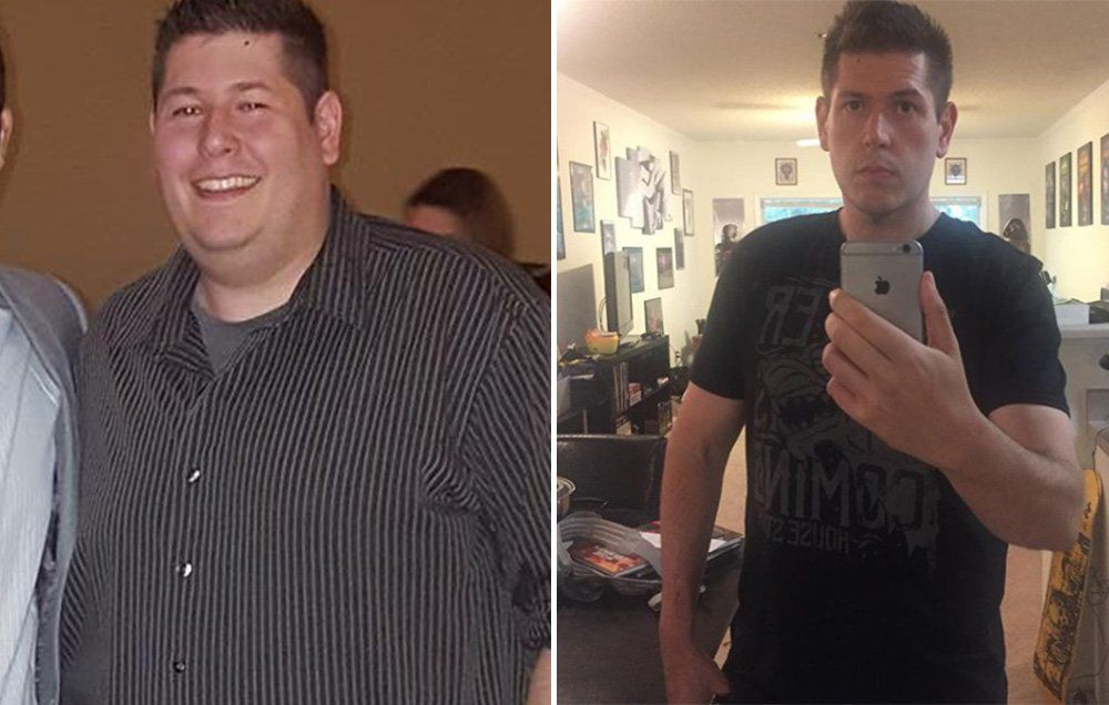 This Man Lost 140 Pounds After Cutting Out These Foods From His Diet