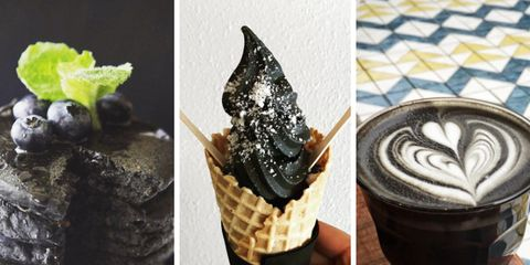 activated charcoal in your food trend