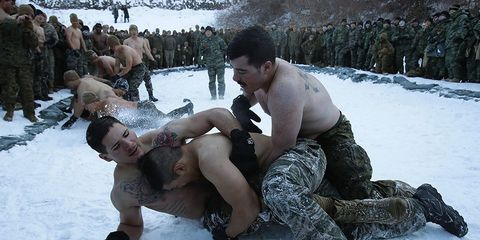 us south korea combat drills