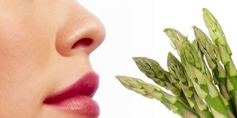 asparagus urine smell