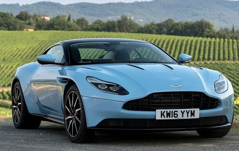 Test Drive And Review The 2017 Aston Martin Db11 Men S Health