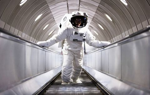 how do astronauts work out in outer space men s health