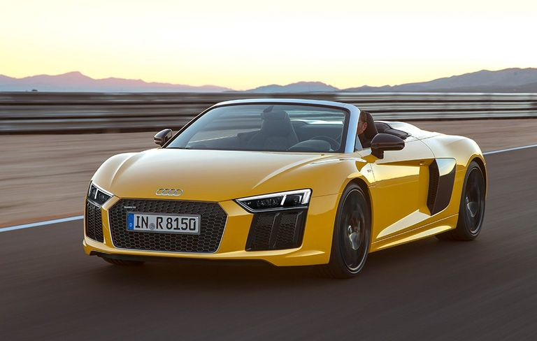 First Drive and Review: 2017 Audi R8 Spyder | 's Health