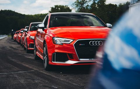 First Drive and Review: The 2018 Audi RS3 and TT RS Are