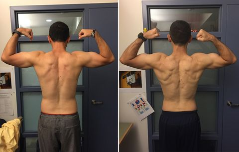 the workout this man used to get sixpack abs in 8 weeks