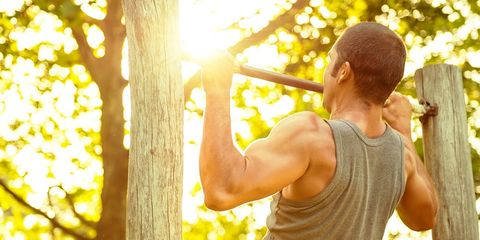 People in nature, Yellow, Arm, Sunlight, Muscle, Tree, Branch,