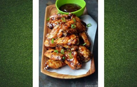 baked asian wings