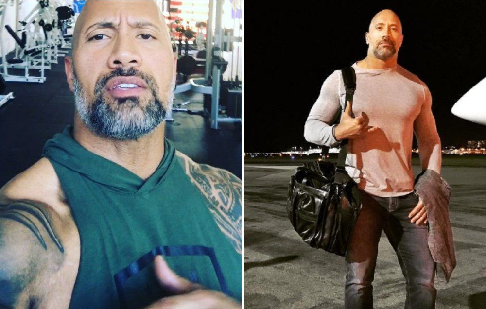 the rock with a beard