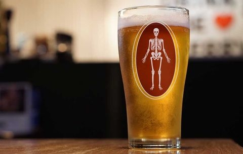 beer and bone health