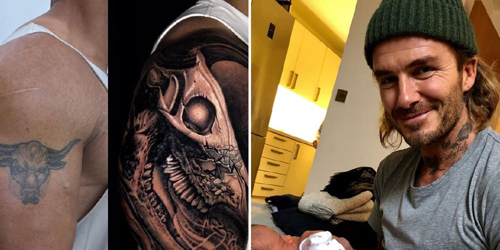 The best celebrity tattoos of 2017 men s health for Channing tatum tattoo side by side