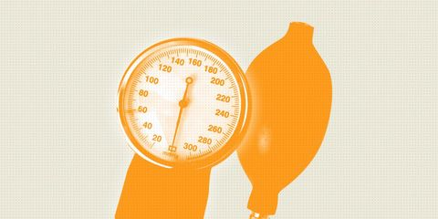 blood pressure may be too high