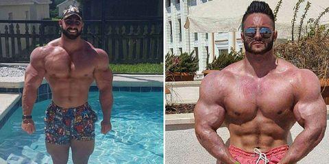 bodybuilder accused of photoshopping photos