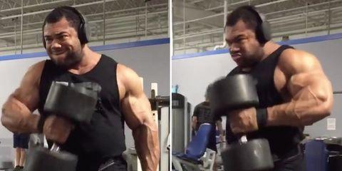 bodybuilder workouts, Motivation Monday