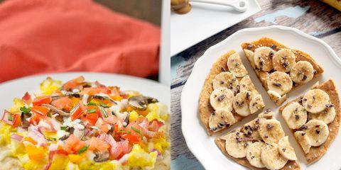 breakfast pizzas