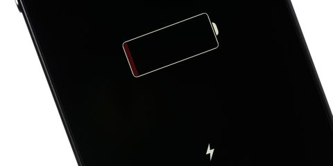 charging iphone