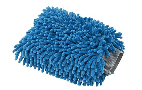 chemical guys blue microfiber wash mitt