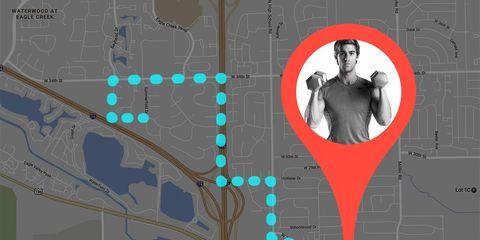 find a closer gym