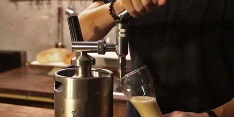 cold brew keg nitro king