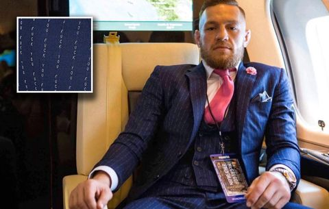 aeae1a406ebd7 You Can Now Buy Conor McGregor's Notorious 'F*ck You' Suit | Men's ...