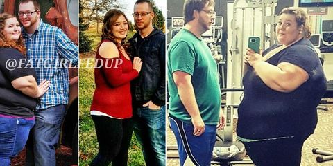 couple dropped over 400 lbs combined