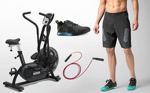 Clothing, Footwear, Human leg, Exercise machine, Shorts, Black, Athletic shoe, Knee, Active shorts, Trunks,