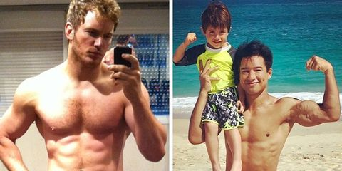 fittest dads on instagram