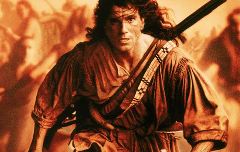 "Nathaniel ""Hawkeye"" Poe in The Last of the Mohicans"
