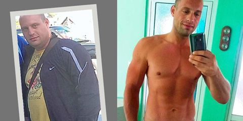 6 overweight guys who lost 70 pounds and got ripped tell