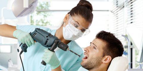 drill at dentist