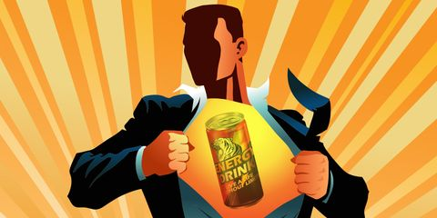 energy drink promises superman results