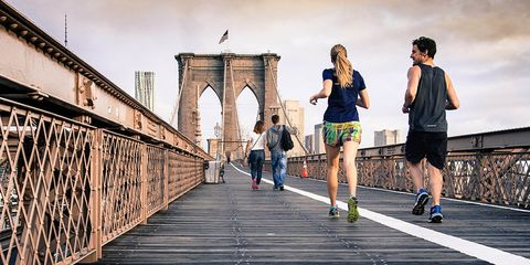 running slows down aging