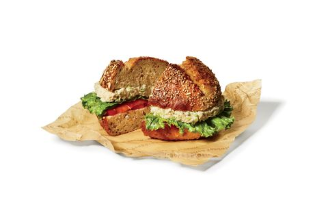 Einstein Bros. Bagels Albacore Tuna Salad Sandwich on a Multigrain Roll