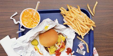 fast food strict diet