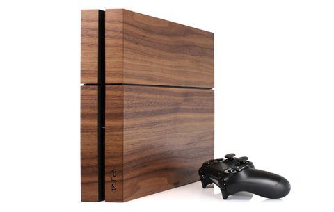 Toast Wood Gaming Console Cover