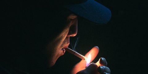 less nicotine in cigarettes